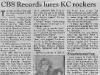 CBS Record Deal News 1989
