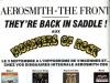 Aerosmith & The Front 1990 Ad
